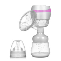 YJ Dropshipping Electric Breast Pump Suction USB Breast Pumps Large Mute Prolactin Baby Breast Feeding Manual Breast Pumps