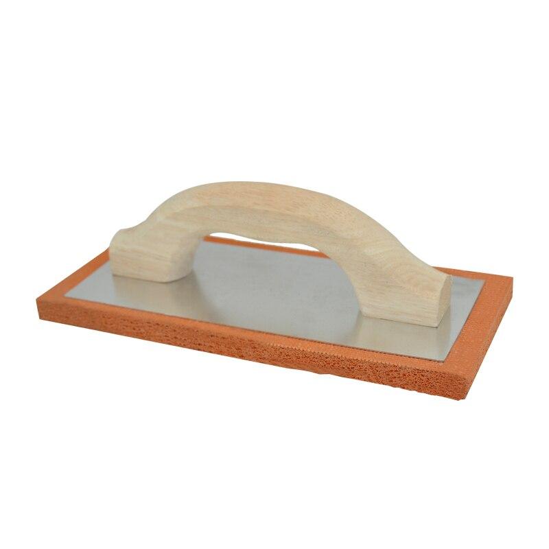 Us 140 Free Shipping 240mm Plastering Trowel Float Trowel High Density Rubber Wooden Handle Masonry Float Hand Tools In Plaster Trowel From Tools