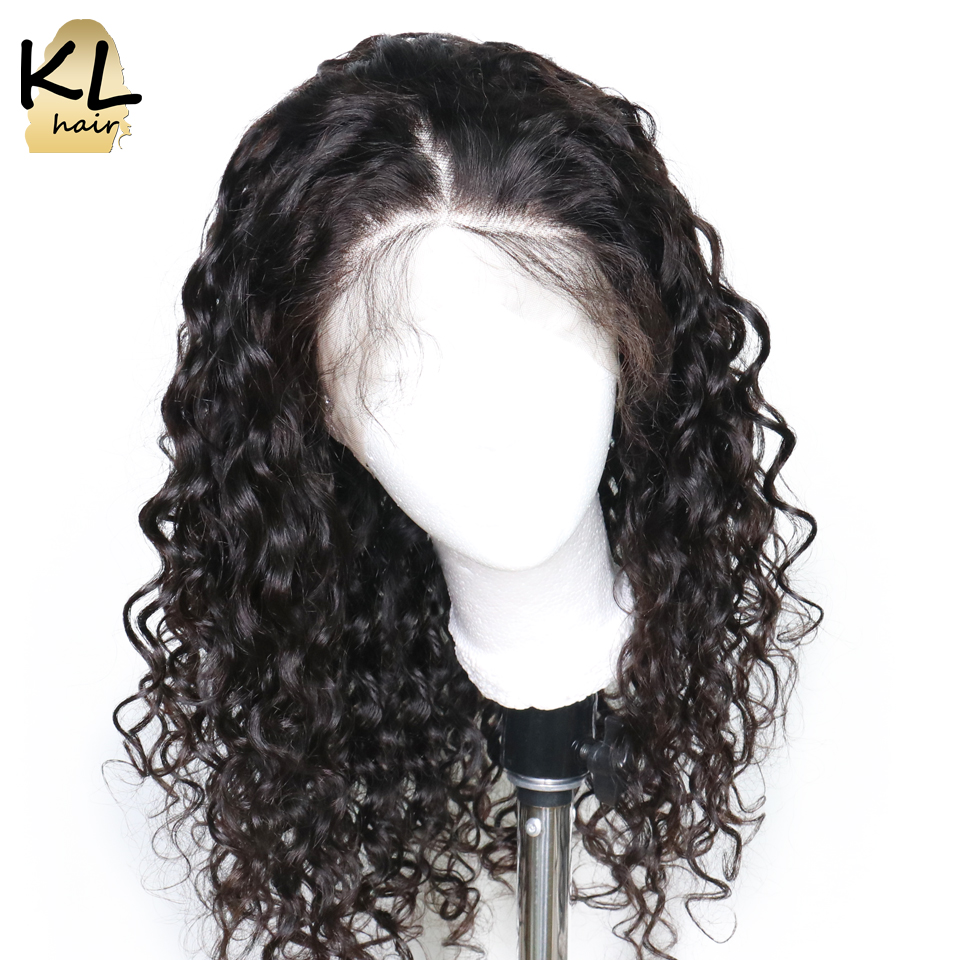 KL 360 Lace Frontal Wig Pre Plucked With Baby Hair Brazilian Remy Hair Natural Wave Lace