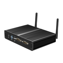 Fanless Dual LAN Intel Celeron N2808 J1800 J1900 2955U Mini PC Windows 7 Mini Computer 2*COM Computer Mini WIFI HDMI USB HTPC