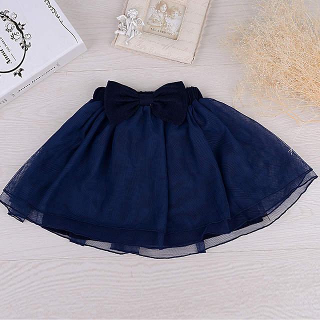 Baby Girl Tutu Pettiskirt Short Skirts For Girls Cotton Skirt  Mesh Solid Super Soft Casual Princess Tutu Skirts For Children