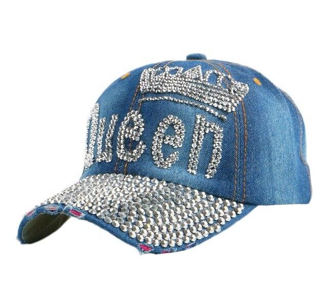 new trendy QUEEN letter crown design custom women girl casual baseball cap  fuchsia black outdoor brand snapback hats sport gorra ef1b0d96f07b