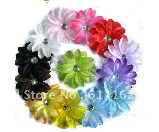 Лилии цветок волос Детские волосы украшают цветок Детские Волосы Девушки банты 360 шт ac38b