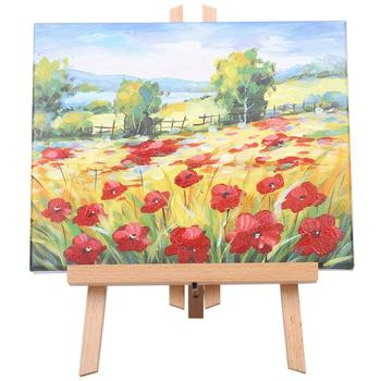 30cm Artist Wooden Easel Beech Wood Artist Art Easel Wooden Stand Easel For Painting Display Party Decoration