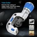 Lager Rohr Cutter 4 32mm/5 50mm Rohr Cutter Für Kupfer Aluminium Edelstahl Rohr scher Wälzfräsen Rund Klingen Hand Werkzeuge|Scheren|Werkzeug -