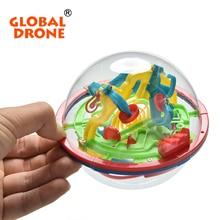Interesting 3D Magic Intellect Maze Ball Kids Toys Educational Children Balance Logic Ability Puzzle Game Balls
