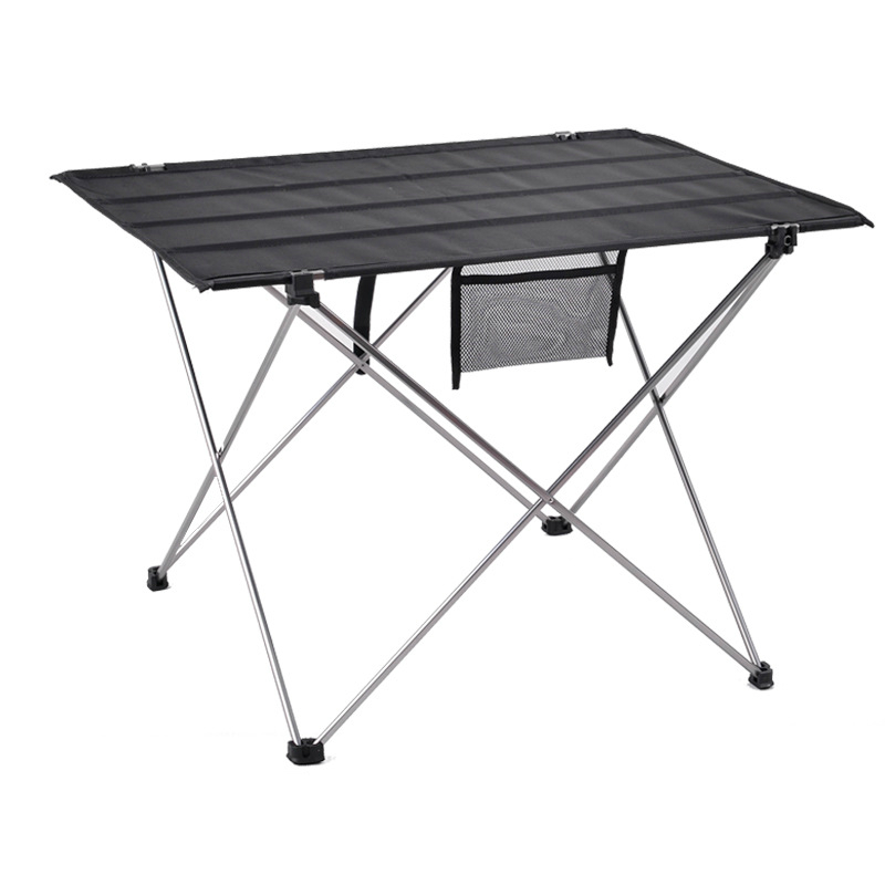 Oxford Cloth Surface Outdoor Folding Table Stable Waterproof Portable Camping Table Ultralight Picnic BBQ Accessories Can Stored