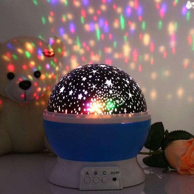 2018 lámpara del proyector LED de cielo estrellado cielo estrella ...
