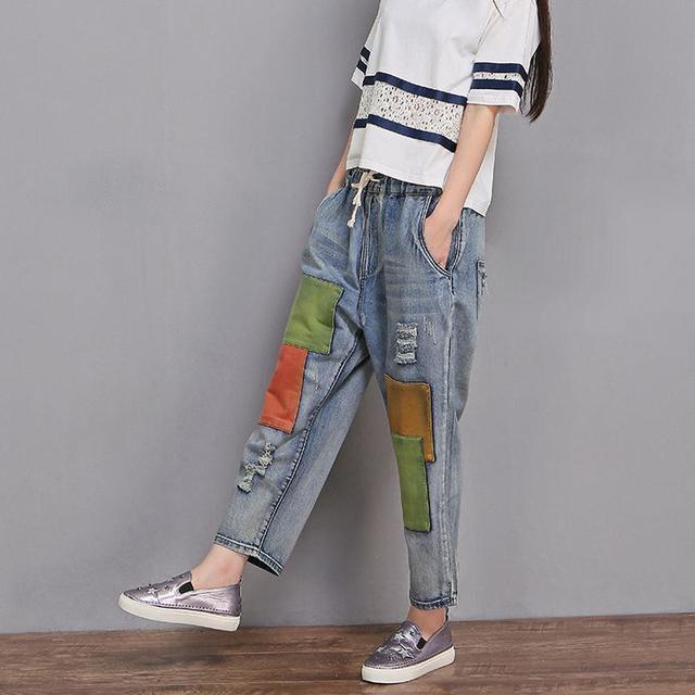 De 2017 6xl Taille Haute Grande Printemps Qualité Jeans 2xl 5wBqURXx