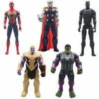 30 cm Marvel Avengers 4 Endgame Spielzeug Thanos Hulk Spiderman Iron Man Thor Wolverine Schwarz Panther Venom Action Abbildung Kid