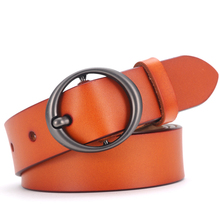 Ladies Classic Split Leather Belt