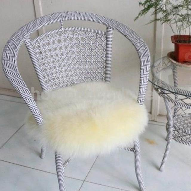 Artificial Faux Sheepskin Rugs Fluffy Area Rugs Floor Carpet Seat Cushion  Yoga Mat Pad For Living