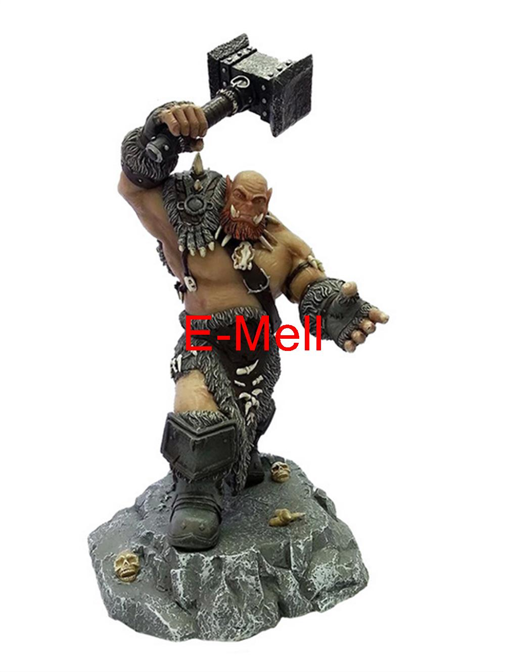 Cosplay Ogrim 30cm/11.8'' Boxed GK Garage Kits Action Figures Toys Model cosplay durotan 22cm 8 7 boxed gk garage kits action figures toys model