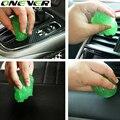 1 UNID productos cibernéticos magia de limpieza de coches súper pegamento limpio de limpieza de salida de coches suministros lavadora de lanza de espuma esponja de microfibra Gel
