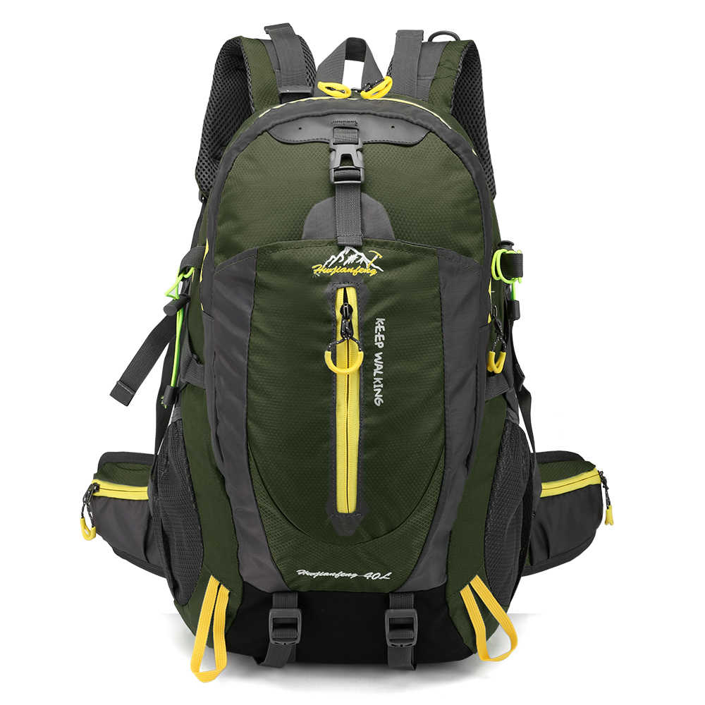 frische Stile 60% Freigabe innovatives Design 40L Men Women Climbing Bag Outdoor Fishing Bags Waterproof Travel Trekking  Backpack Hiking Camping Rucksack Tactical Sports Bags