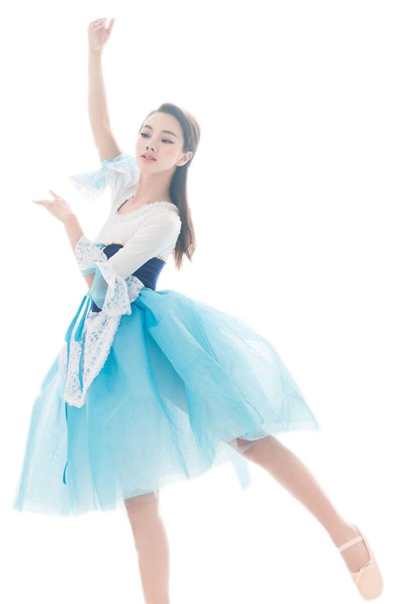 Új lányok balett tánc előadás ruházati ruha Ruházat és jelmez - Jelmezek - Fénykép 3