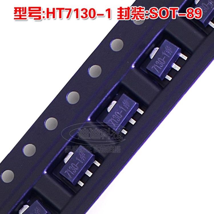 New HT7130-1 SOT-89 Low Dropout Voltage Regulator LDO (3V) Chip Transistor 7550 1 ht7550 1 sot 89