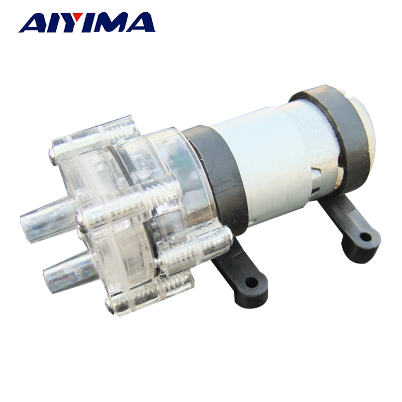 Aiyima DC12V Water Pump High Temperature Transparent Miniature Pump Tea Kung Fu Tea Accessories стоимость