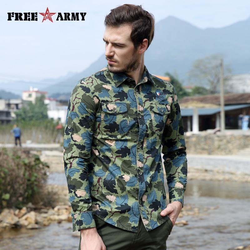 화려한 봄 셔츠 패션 캐쥬얼 브랜드 남성 의류 긴 - 남성 의류 - 사진 4