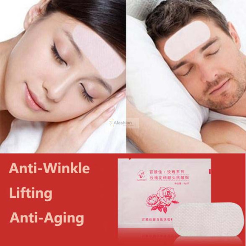 5pack Forehead mask Anti-wrinkle Anti-aging Facial Mask acne mascara whey protein Forehead Lifting Face Care free shipping