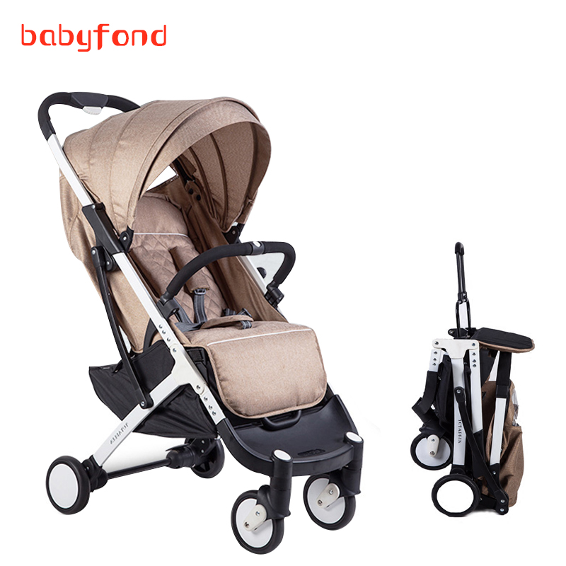 8 gifts !175 degree sleep 0-36 months baby  Baby stroller light folding portable mini car umbrella baby carts child 11 colors open back halter frill trim tankini set