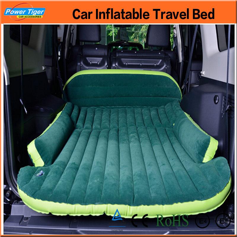 Free Shipping Big Size Car Inflatable Bed Outdoor Travel Car Air