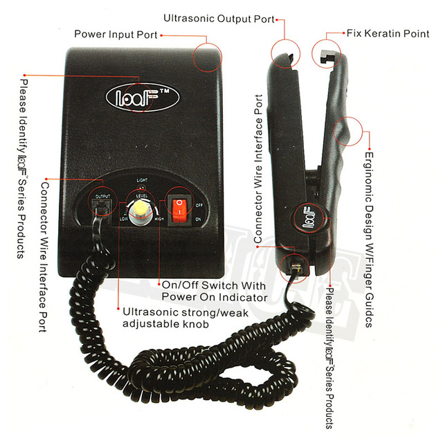 Conector de cabelo ultra-sônica da ue eua ua uk plug ultrasonic máquina de fusão a frio loof ultrasonic extensão do cabelo máquina de ferro