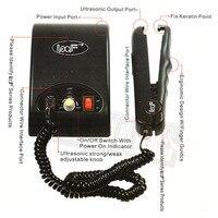 Ultrasonic Hair Connector EU US AU UK Plug Ultrasonic Cold Fusion Machine Loof Ultrasonic Hair Extension Iron Machine