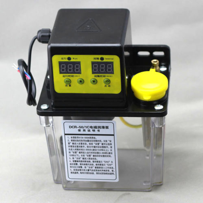 High Quality 220V 1.8L Dual Digital Display Automatic Electric Lubrication Pump Oiler NC Pump открывалка мультидом ретро бабочка page 10