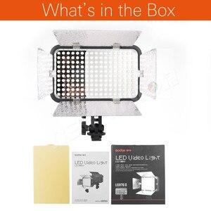 Image 2 - Godox LED170 II LED170II Giày Hot Núi Liên Tục Di Động Video LED Bảng Điều Chỉnh Lights cho DSLR DV Máy Ảnh
