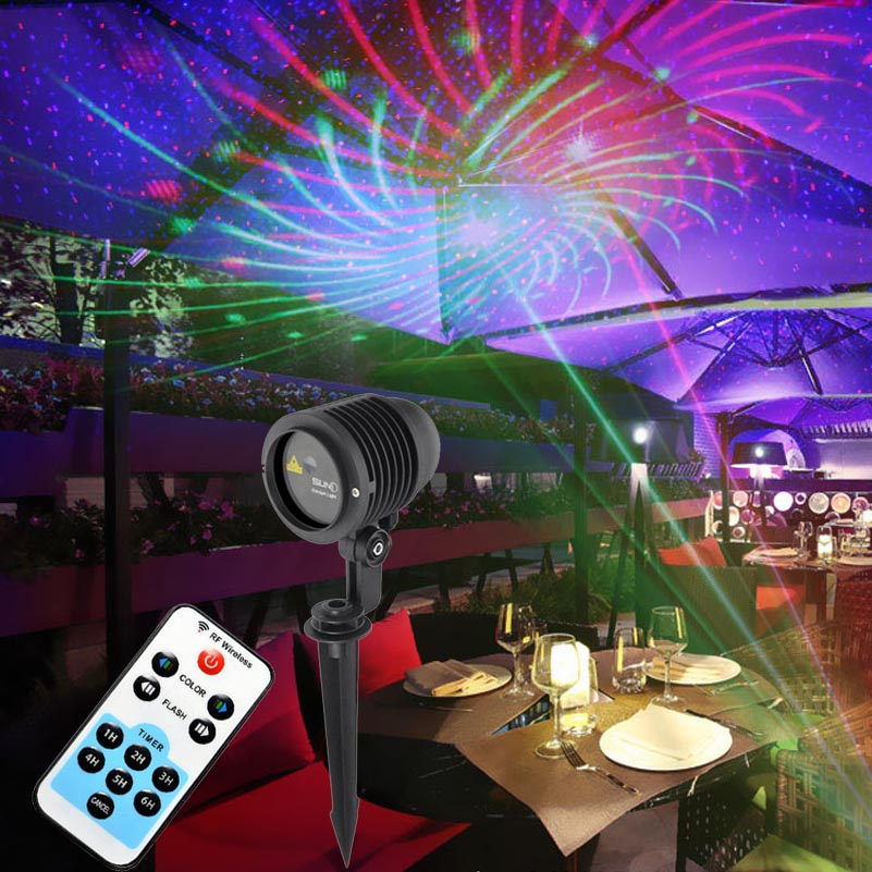 IP65 Waterproof Laser Christmas Lights LED Lighting Show