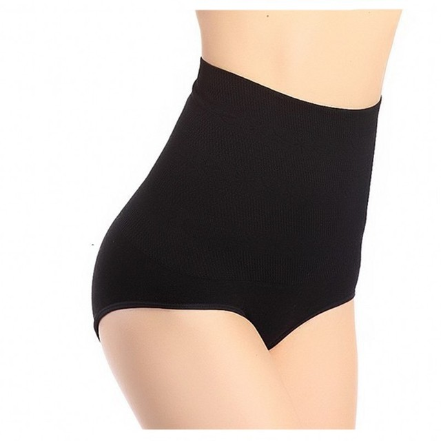 High Quality Brand Plus Size Black Slimming Tummy Knickers Waist Girdle Hip Shapewear Pants