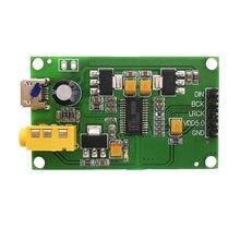 PCM5122 I2S IIS Digital Raspberry Pi DAC Decoder Board para AUX Entrada De Áudio de Saída Analógica