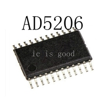 5PCS D5206BRUZ100 AD5206BRUZ100 TSSOP-24