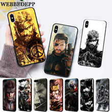 WEBBEDEPP Metal Gear 5 Game High Quality Silicone soft Case for iPhone 5 SE 5S 6 6S Plus 7 8 11 Pro X XS Max XR цена