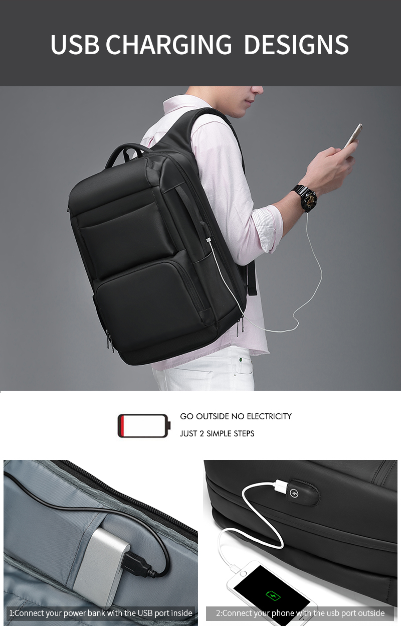 anti-theft laptop backpack - water resistant, usb port, luggage strap Anti-theft Laptop Backpack – Water Resistant, USB Port, Luggage Strap HTB1iXgdafvsK1RjSspdq6AZepXaZ