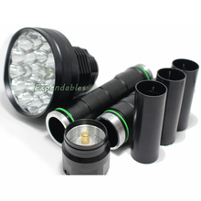 powerful led flashlight 35000LM XML-24*T6 Hunting Lights exploration Lamp Lighting tactical LED Flashlights 26650/18650 Torch