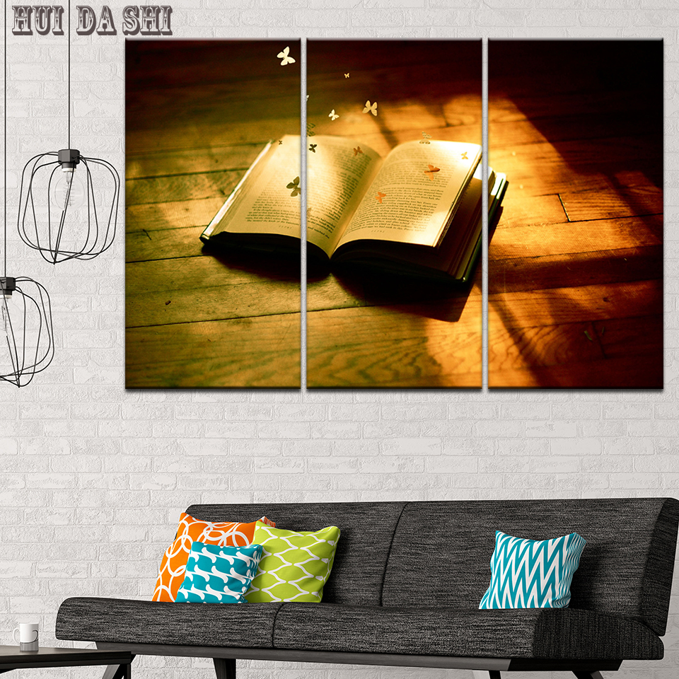 HD Canvas Printed Painting Wall Art Modular Poster 3 Panel Koran ...