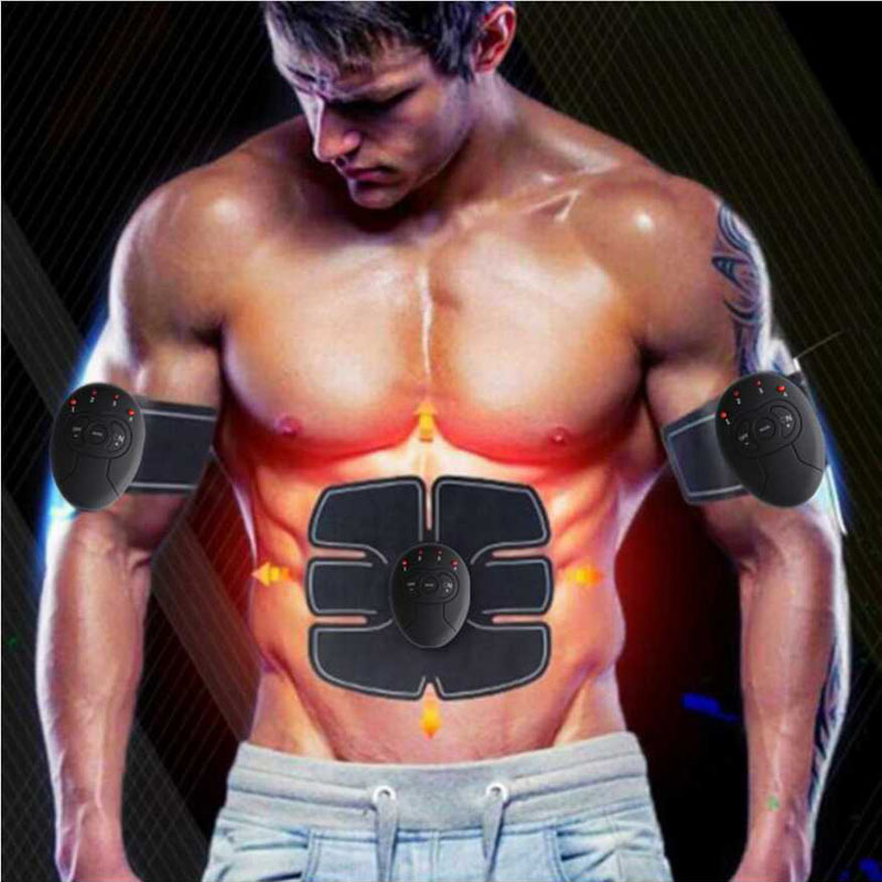electronic pulse massager electric muscle stimulator Treatment Fitness massage pad Abdominal Muscle Trainer Smart Exerciser