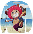 Autumn/winter The new sweat shelves Classic Japanese anime printing One Piece Animation Sweatshirt casual pullover