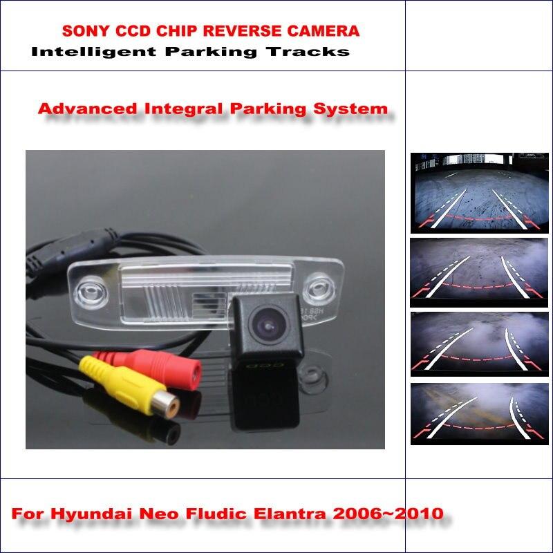Caméra 860*576 Pixels pour Hyundai Neo Fludic Elantra 2006 ~ 2010 Parking arrière/580 lignes TV guidage dynamique