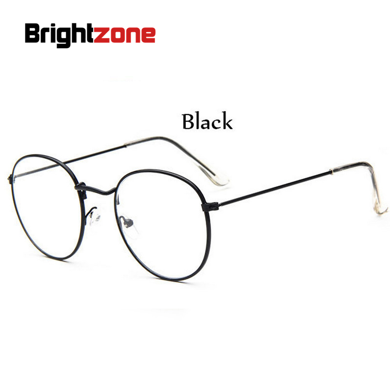 ✅Fashion Gold Metal Frame Eyeglasses For Women Female Vintage ...