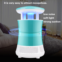 Pest Bug Zapper LED Household Mute Safety Photocatalyst Mosquito Killer Lamp USB Rechargeable Anti Mosquito Repellent Light 220V