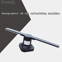 3d hologram fan projector holographic display led advertising gobo advertisement