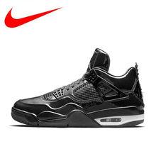5707ce1e5202 Original Nike Air Jordan 4 Lab4 AJ4 Men Breathable New Arrival Authentic  Basketball Shoes Sports Sneakers 719864-010 719864-600