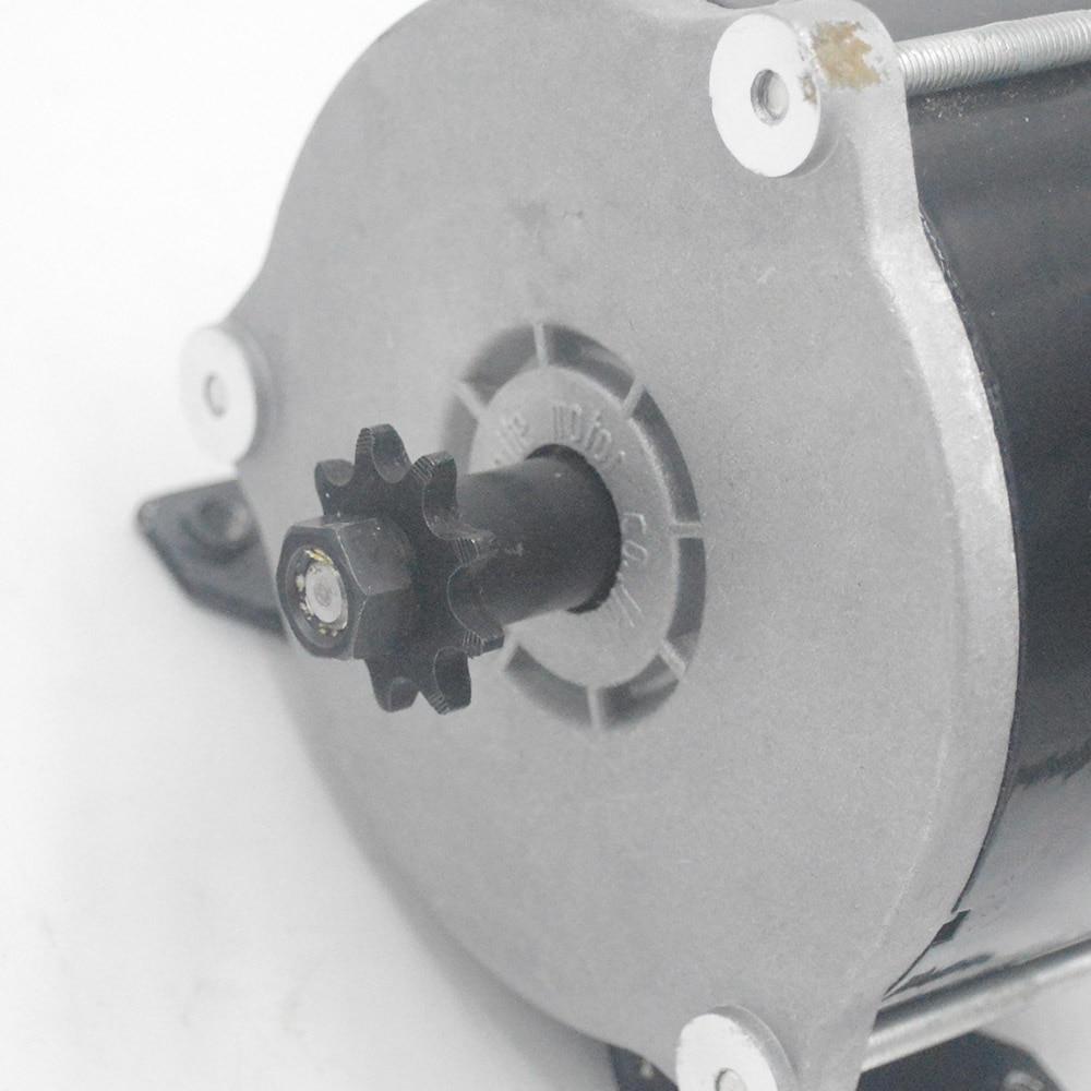 36V 500W elektrische fahrrad motor motor pinsel motor für elektrische fahrrad scooter e-bike
