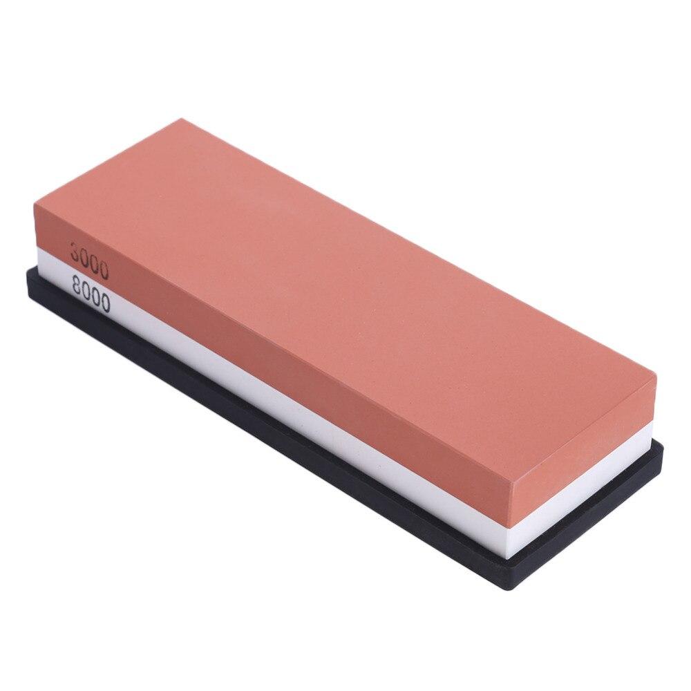 Кухонный нож точилка Камень воды камни оттачивая oilstone заточной станок корунд точильный камень