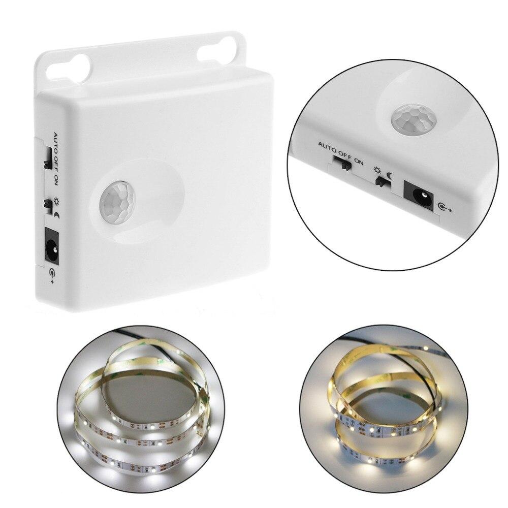 Sensory Switch 3*AA Battery Power Supply Body Infrared PIR Motion Sensor Switch & 5V LED Strip Light 1pcs lot battery holder box case 3x aa 4 5v with switch