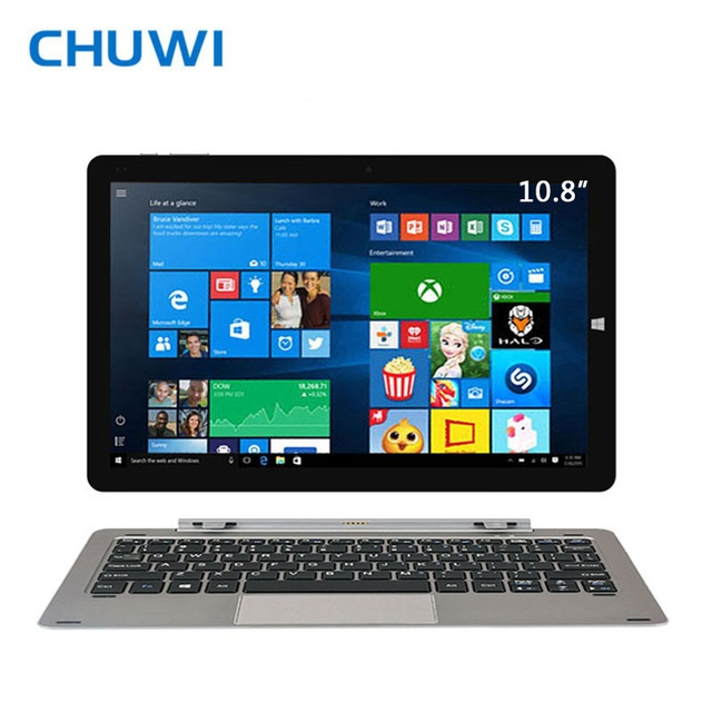 CHUWI Officiel! 10.8 Pouce Hi10 Plus Tablet PC Double OS Windows 10 Android 5.1 Quad Core 4 GB RAM 64 GB ROM 1920*1280 HDMI comprimés