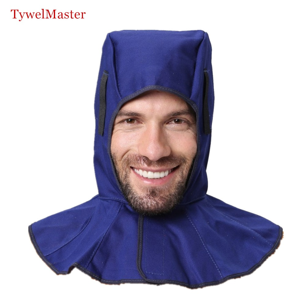 Washable FR Cotton Hood Full Protective Welding Hood Flame Retardant Welder Cap Fits All Kinds Of Welding Helmet